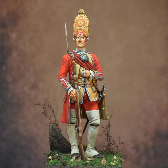 Officer 3rd Regiment Foot Grenadier 1751