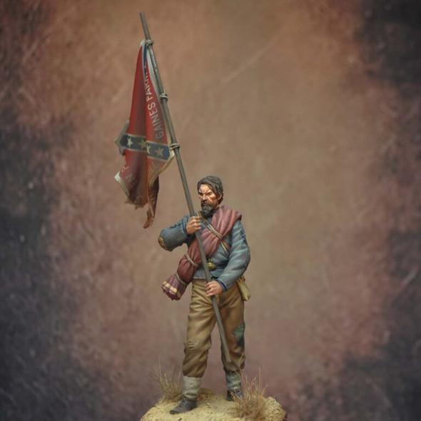 Color Bearer, 11th Mississippi, 1863