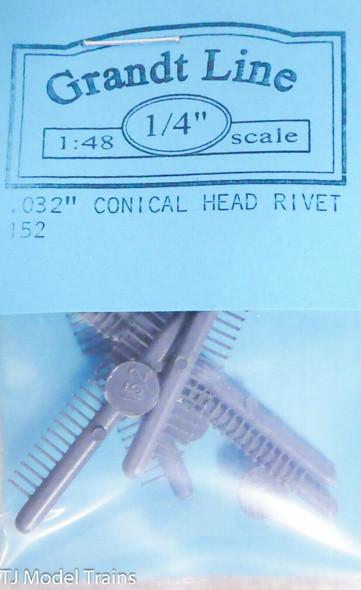Conical Head Rivet 0.032