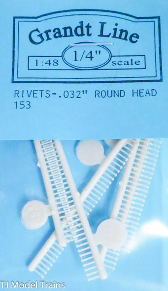 Round Head Rivet 0.032 (150)