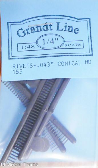 Conical Head Rivet 0.043