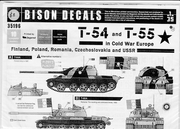 T-54 and T-55 in Cold War Europe