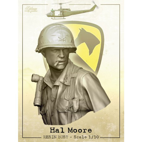 Hal Moore Vietnam Bust 1/10