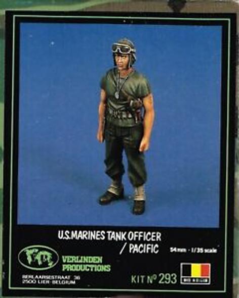 US Marine Tank officer