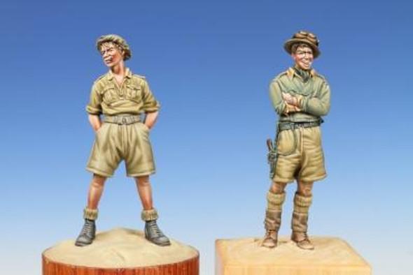 British Soldier & Tank Crewman (Western Desert 1940