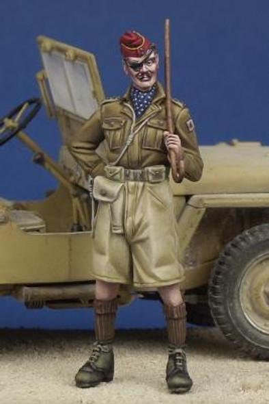 British Hussar Officer WW II