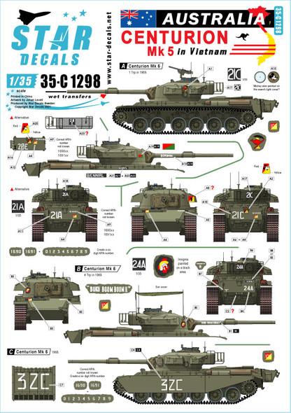 Australia in Vietnam # 1. Aussie Centurion Mk 5