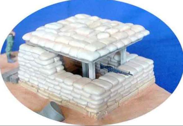 Sandbag Bunker Vietnam
