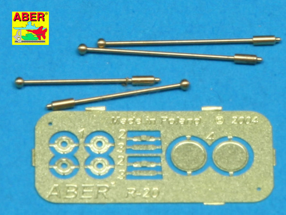 German with indicators for Sd.Kfz.234 - 4 pcs.