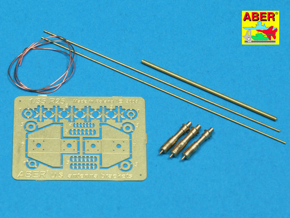 US antenna & brackets (set of 3 pcs,)