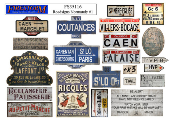 French Roadsigns