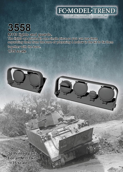 M113 lights and guards