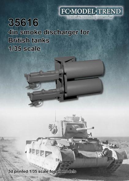 British WWII AFV smoke grenades launcher,
