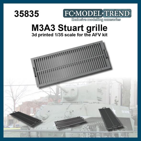 M3A3 Stuart grille,