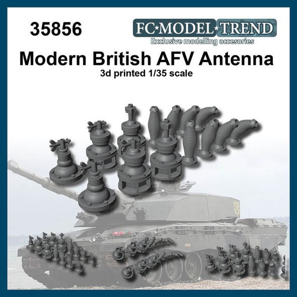 Modern British AFV antennas
