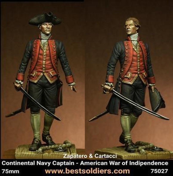 Navy Captain - American War of Independence