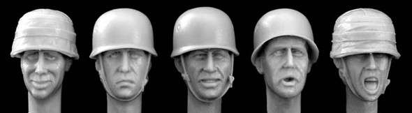 German WW2 para helmet