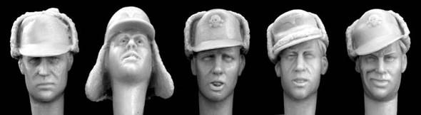 German Winter Caps with visors