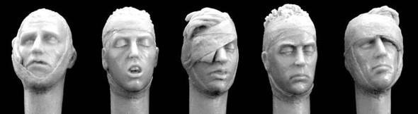 Bandaged heads