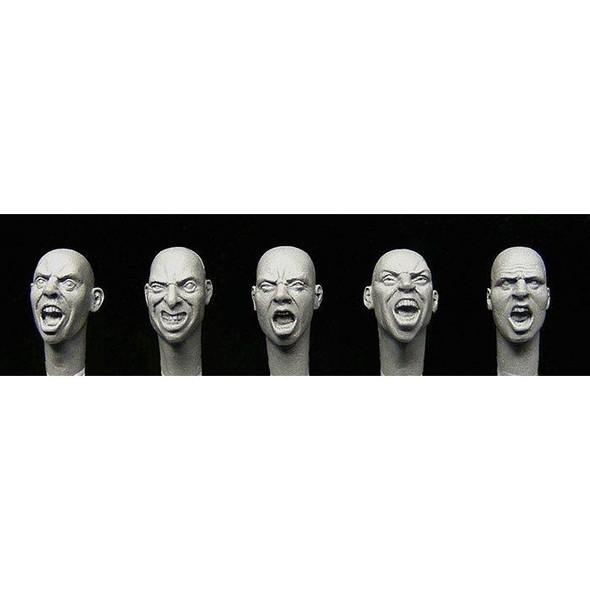 5 heads, War faces