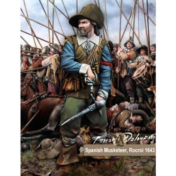Spanish Musketeer Rocroi 1643