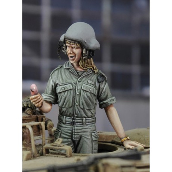 Israeli woman tanker
