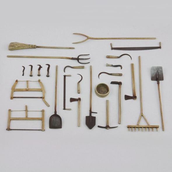 Assorted farm tools