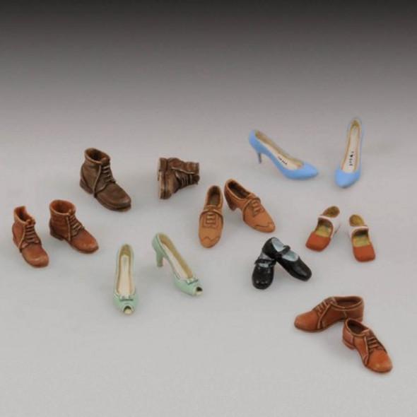 Assorted civilian shoes