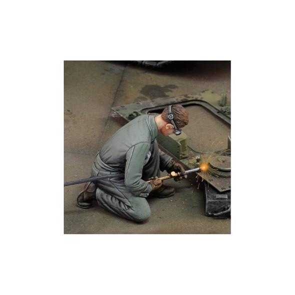 Man Using Welder #2
