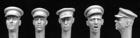 Soviet WW2 officer's caps