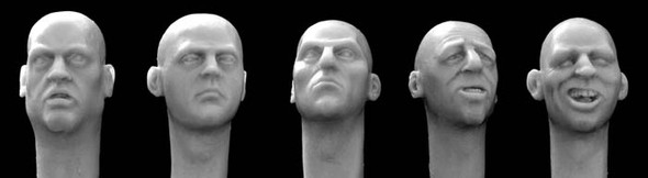 Character  Heads #3