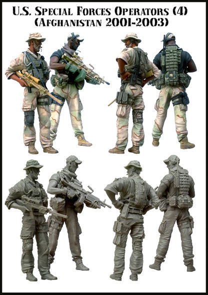 U.S. Special Forces Operators (Afghanstan 2001-2003)