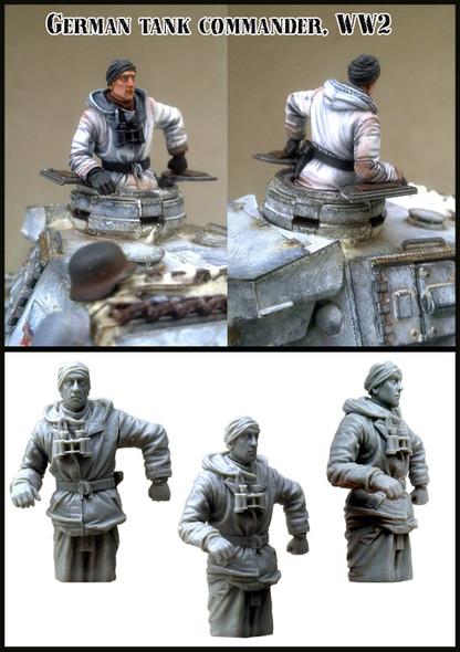 German Tank Commander winter