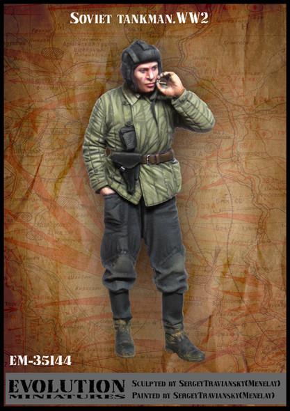 Soviet tankman .