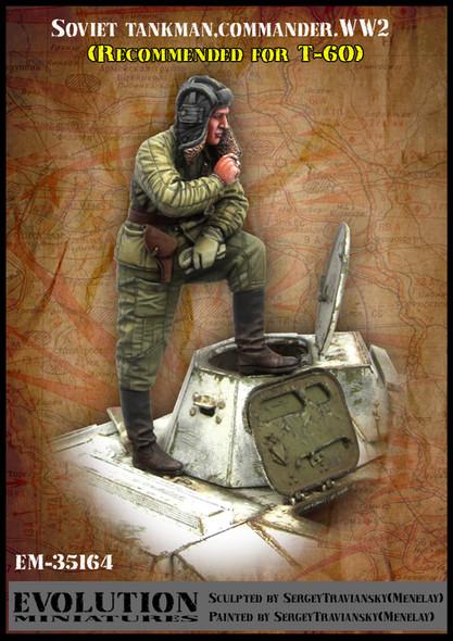 Modern Soviet Tank Commander