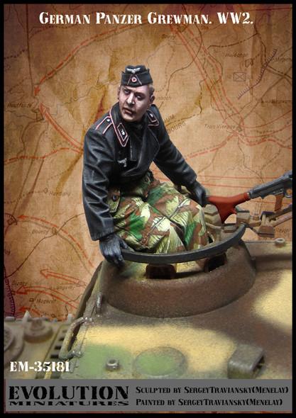 German Panzer Crewman turret