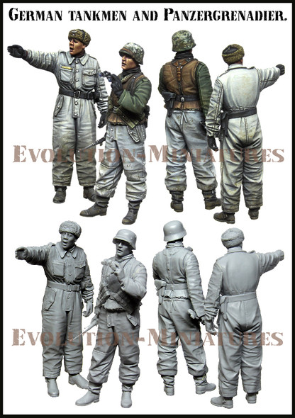 German tankmen and PzGr