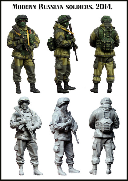 Modern Russian Soldier #1