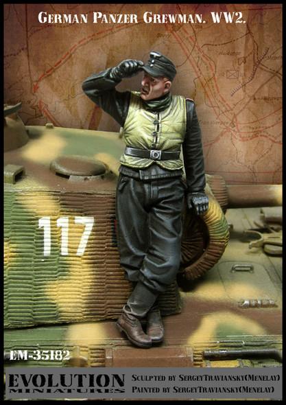 German Panzer Crewman #3