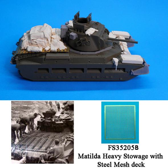 Australian Matilda Conversion, Stowage and Steel Rear Deck (heavy load)