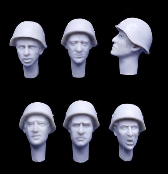 Russian WW2 Helmet Heads