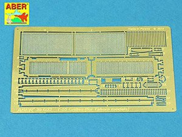 Grilles for T-55AM also for T-55AMV