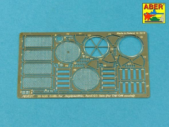 Grilles for Panther, Ausf.G & Jagdpnther