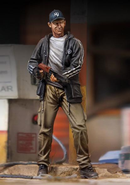 Man with Gun -Zombie fighter
