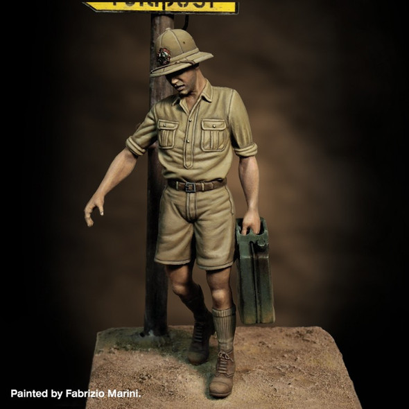 Italian Soldier with Jerrycan