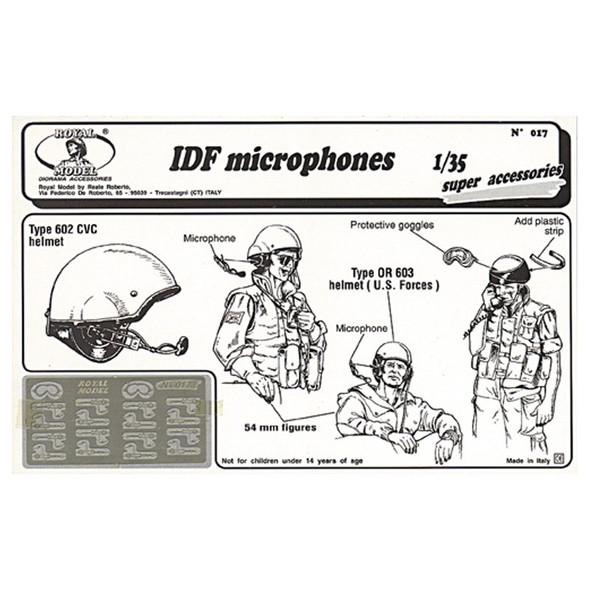 IDF microphones