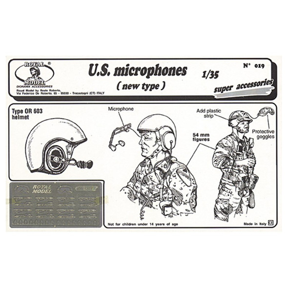 U.S. microphones (New type)