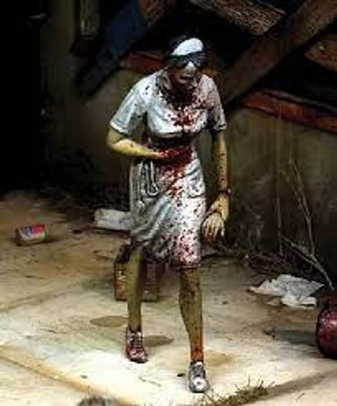 Nurse zombie
