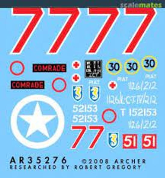 "13/18 Hussars ""Comrade"""