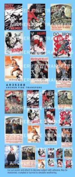 Polish WWII propaganda posters